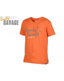 Savage Gear - Simply Savage V-neck Orange