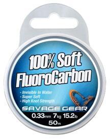 Savage Gear - Soft flurocarbon 0,22mm 50m