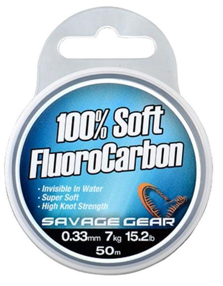 Savage Gear - Soft flurocarbon 0,26mm 50m