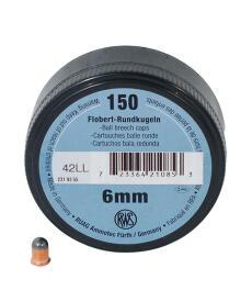RWS - Flobert 6mm rundkugle