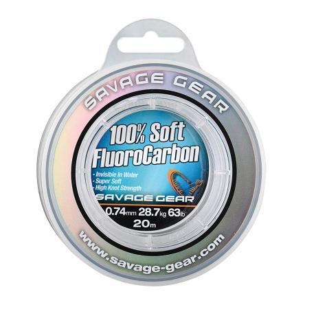 Savage Gear - Soft flurocarbon 0,49mm 35m