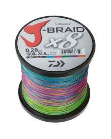 Daiwa - J-Braid DX 8 påspolet pr. m.