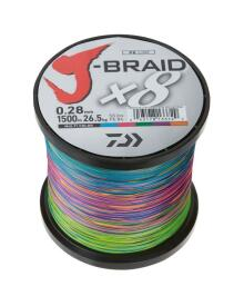 Daiwa - J-Braid grand 8 påspolet pr.m