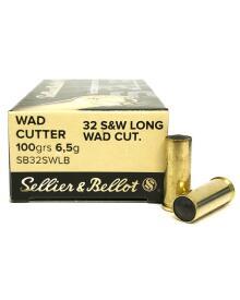 Sellier&Bellot - 32 S&W Long Wad Cut 6,5gr.