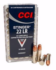 CCI - 22Lr. Stinger HP