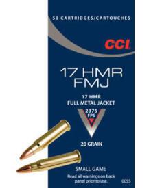 CCI - 17 HMR FMJ 20 grain