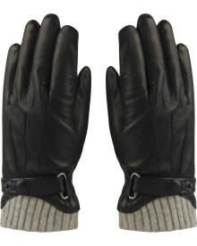 MJM - Skind Handske m. foer
