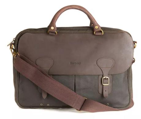 Barbour - Wax Leather Briefcase str.L