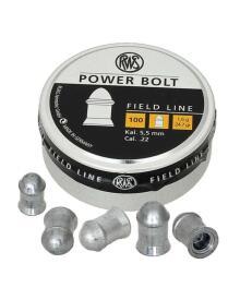 RWS - Power Bolt 5,5mm 100stk