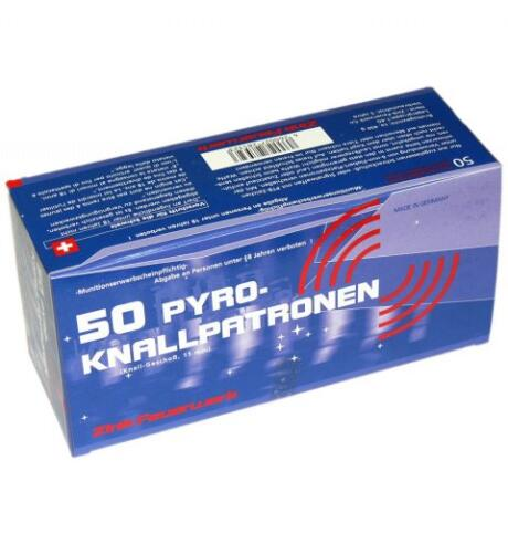 Zink-feuerwerk - Knallpatroner 15mm 50 stk