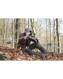 Mjoelner Hunting - 4-legs shooting stick camo