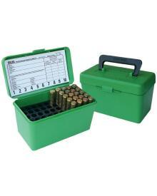 MTM - Patronbox 50stk m/håndtag